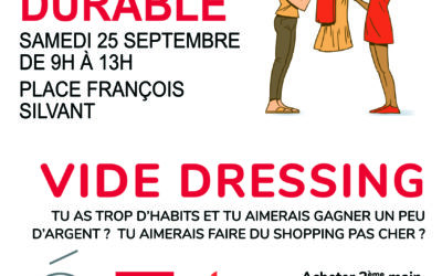 Vide-dressing – Matin durable, 25 septembre